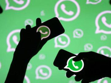 Whatsapp. REUTERS