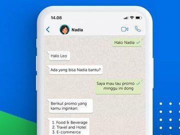 Kata.ai Kembangkan Solusi Layanan Pelanggan dengan Aplikasi WhatsApp