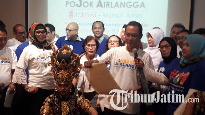 Komunitas Pojok Airlangga Dukung Jokowi-Ma