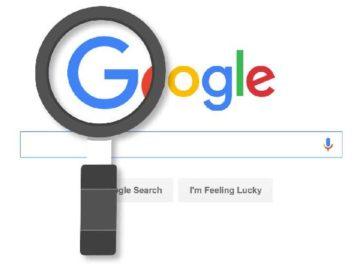 Ilustrasi mesin pencari Google. (www.j-26.com)