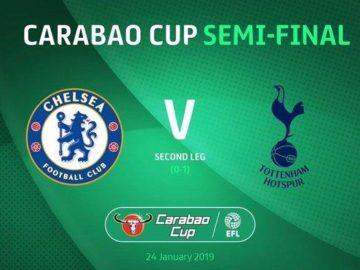 Semifinal Carabao Cup Chelsea vs Tottenham, Berikut Prediksi Line-up Jelang Kick Off