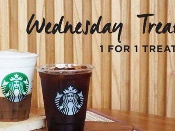 Starbucks Gelar Promo Buy 1 Get 1 Free dengan Kupon LINE. Buruan, Hanya Berlaku Untuk Hari Ini Lho!