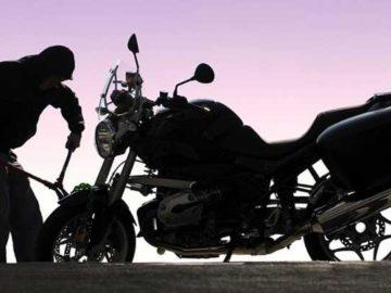 Ilustrasi pencurian sepeda motor. bennetts.co.uk