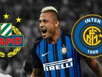 LIVE STREAM Rapid Vienna Vs Inter Milan, Line Up dan Prediksi Skor Leg 1 Liga Europa Jam 00.55 WIB