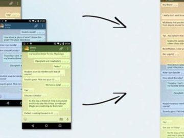 Mau Screenshot Chat Whatsapp (WA) Panjang Tanpa Terpotong? Begini Caranya