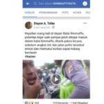Video Diduga Anggota Satlantas Polres TTU Memukul Pengendara Sepeda Motor Viral di Facebook