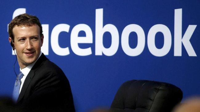 Berharta Rp 885 T, Bos Facebook Digaji Rp 14.000/Tahun