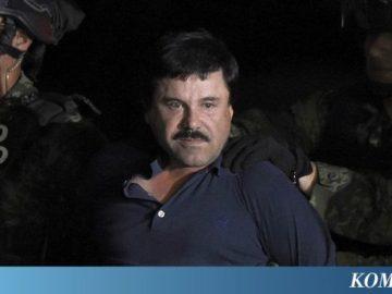 """Dari Penjara, El Chapo Tanda Tangani Bisnis """"Clothing Line"""" untuk Istrinya"""