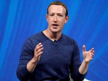 Pendiri dan CEO Facebook, Mark Zuckerberg, pria asal Palo Alto, California, menepati urutan kelima orang terkaya di dunia 2018 versi Forbes dengan kisaran kekayaan 71 miliar Dollar AS. REUTERS