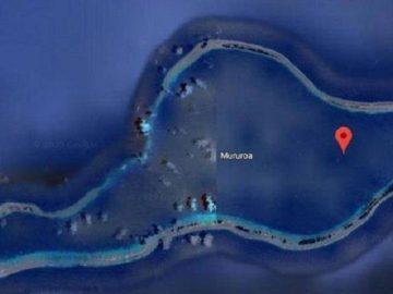 Google Maps Kaburkan Sebagian Wilayah Pulau Mururoa, Cerita Mengerikan Pernah Terjadi di Sana?