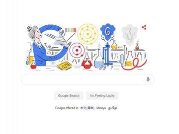 Google Doodle menampilkan Hedwig Kohn. (Google)