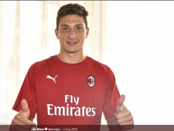 Bek AC Milan, Mattia Caldara.