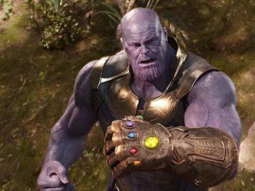 Thanos dengan Infinity Gauntlet. (Marvel Studios/Walt Disney Studios)