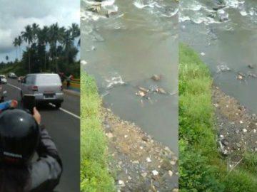 Viral Video Live Facebook Penemuan Mayat diBawah Jembatan Kuning Paniki Manado
