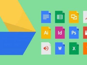 Cara Mengirimkan File dan Folder Via Google Drive