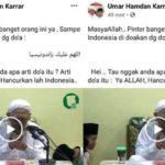 Pelintir Arti Doa Ulama NU Gus Mus, Akun Facebook Ini Dilaporkan ke Polisi oleh PC Ansor Pamekasan