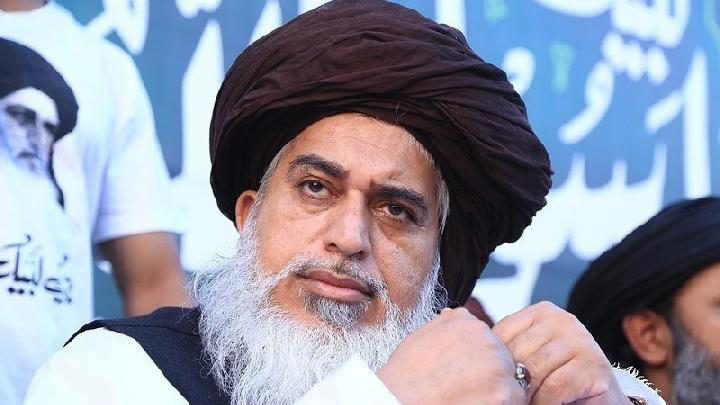 Ulama Pakistan yang menyebarkan kebencian pada umat Kristen, Khadim Hussain Rizvi.