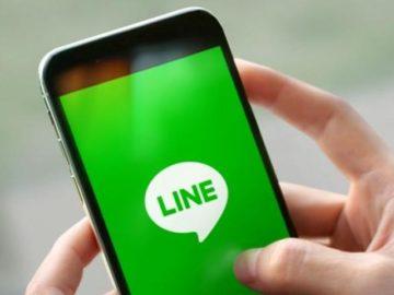 Ilustrasi Line. (line.com)