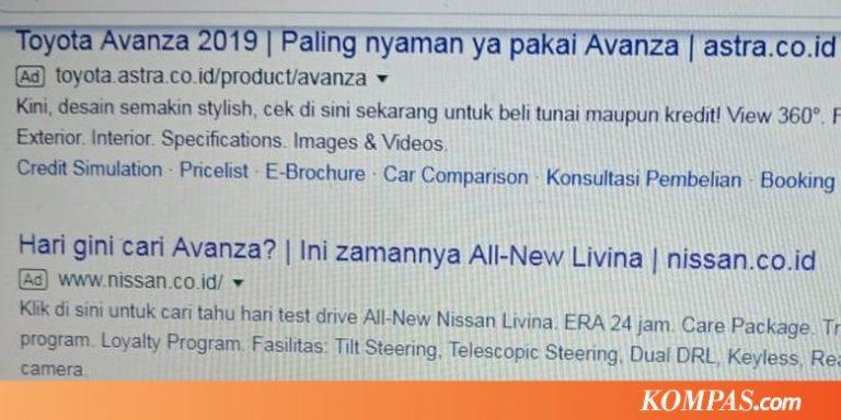 Toyota Tanggapi Santai soal Iklan Nissan di Google
