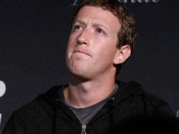Founder and CEO Facebook Mark Zuckerberg.