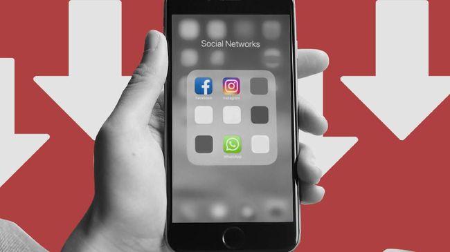 WhatsApp-Instagram Cs Down, Ini Penjelasan Operator Telco