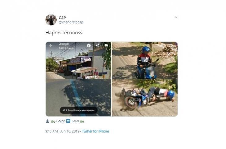 Google Street View. (Twitter/@chandratogap)