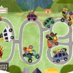 Google Doodle ikut memeriahkan Mudik Lebaran 2019.