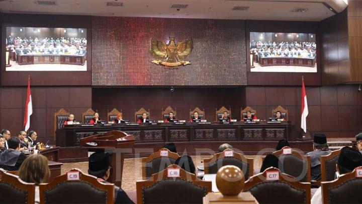 Hakim MK: Video Manipulasi Situng KPU Hanya Narasi di Facebook