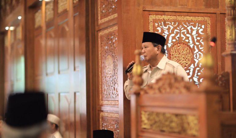 Prabowo Sampaikan Pesan Idulfitri melalui Facebook