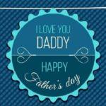 Stiker WhatsApp merayakan Father
