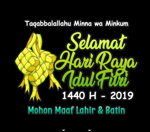 Stiker WhatsApp Ucapan Selamat Idul Fitri 2019