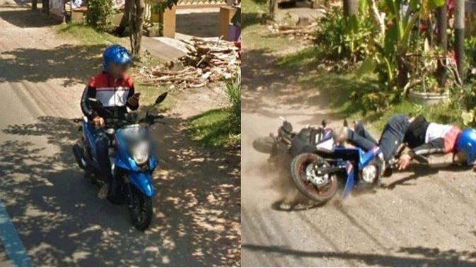 7 Momen Apes Terekam Google Street View, Bikin Ngakak