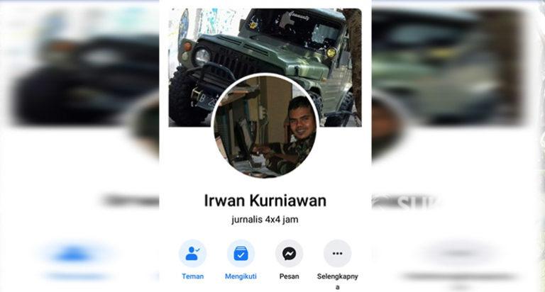 Akun Facebook Dilaporkan, Irwan Kurniawan Dipanggil Polres Sukabumi