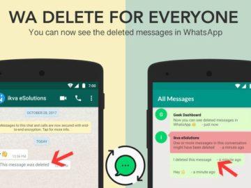 Fitur WhatsApp hapus untuk semua orang (Geek Dashboard)