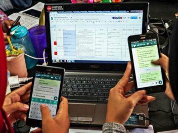 Cihuy, WhatsApp Web Akan Tetap Bekerja Meski Ponsel Mati. (FOTO: Idhad Zakaria)