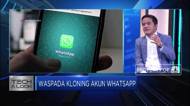 Dua Langkah Amankan Akun Whatsapp - CNBC Indonesia