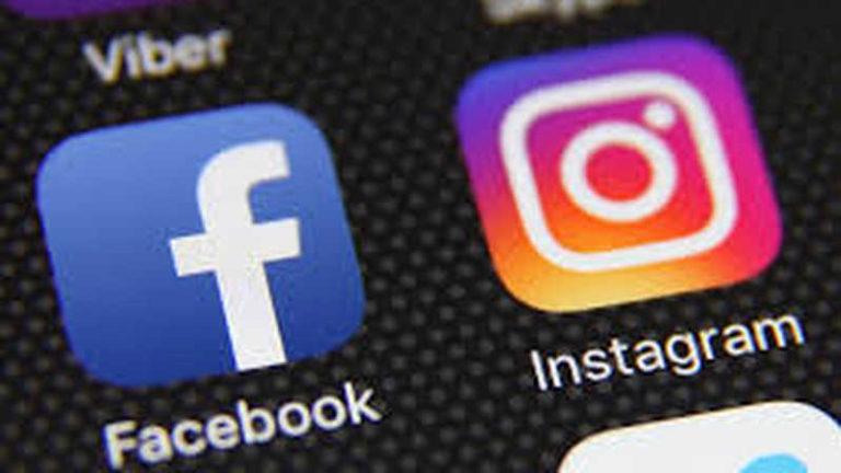 Simbol Facebook dan Instagram (Sumber: philantrophy.com/IST)