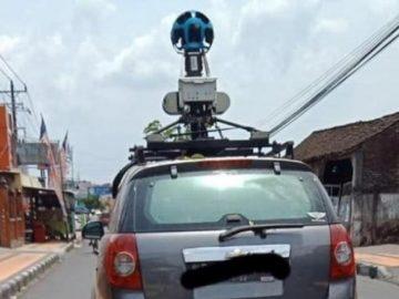 Mobil Google Maps. (Facebook/Ravi R)