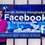 Pemerintah AS Gebuk Facebook USD 5 Miliar
