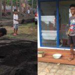 Viral di Facebook, Kisah Anak Wakil Wali Kota Tidore Kerja Jadi Kuli Bangunan, Lihat Foto-fotonya