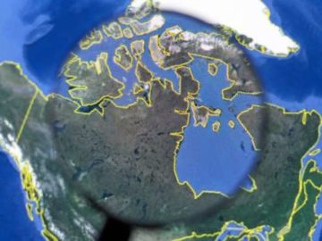 10 Penampakan Aneh di Google Earth Ini Sempat Bikin Gempar Media Sosial