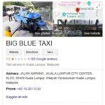 Rating Big Blue Taxi anjlok di Google Maps. (Google)