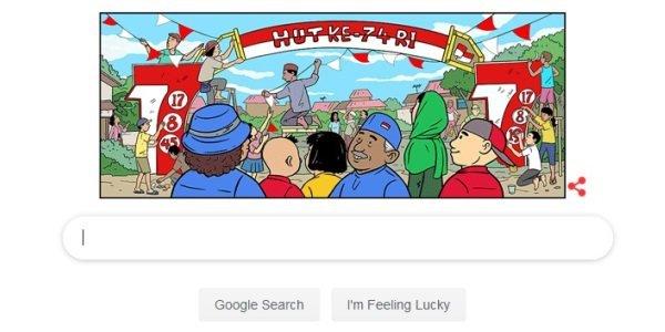 Google Rayakan HUT Kemerdekaan Indonesia ke-74