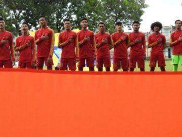 Turunkan Starting Line Up Berbeda, Timnas U-18 Menang Telak Atas Brunei.