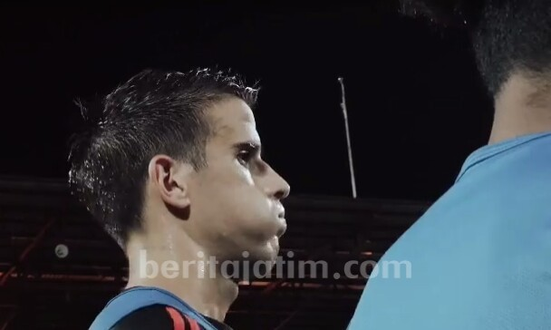 Debut, Ante Bakmaz Masuk Line Up Tim Hadapi Kalteng Putra