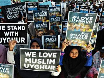 Geger! Perusahaan Ini Bilang Komunitas Muslim Uighur Jadi Sarasaran Serangan..... (FOTO: Ampelsa)