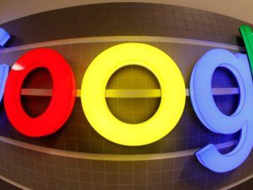 Logo Google. REUTERS/Arnd Wiegmann