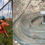 Penggantian Temuan Isolator Korosi pada Line Asam-Asam Arah Cempaka