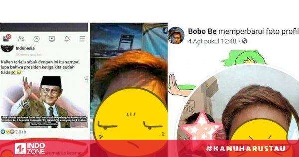 Viral Sosok Remaja Pria Menghina Habibie di Facebook