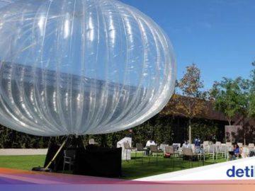 Balon Internet Google dan Starlink Akan Bantu Akses Internet RI
